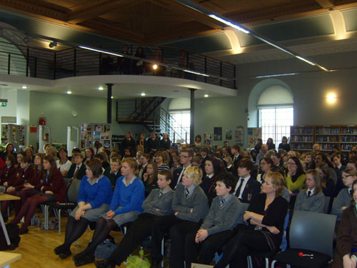 schools from all over N.I. come together for the launch